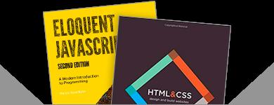 HTML CSS coding books
